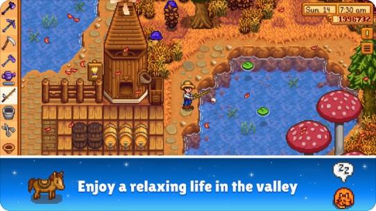 Stardew Valley (App เกมส์ปลูกผักสุดคลาสสิค มีให้เล่นบนมือถือแล้ว Stardew Valley) :