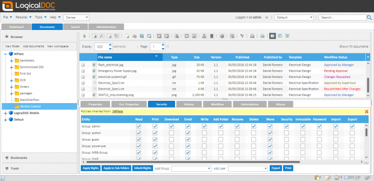 LogicalDOC (โปรแกรม LogicalDOC บริหารจัดการไฟล์เอกสาร แบบครบวงจร ฟรี) :