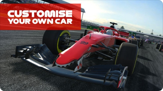 App เกมส์แข่งรถสูตรหนึ่งF1 Mobile Racing