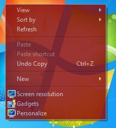 โปรแกรมเปลี่ยนสีเมนู ทำเมนูโปรงแสง Moo0Transparent Menu