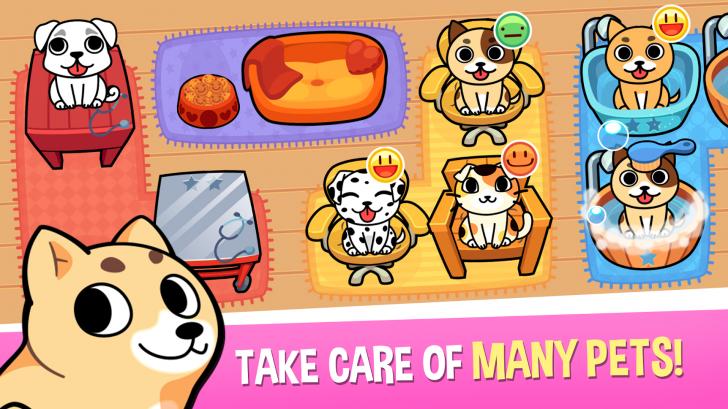 App ร้านอาบน้ำ ตัดขนหมาแมว My Virtual Pet Shop