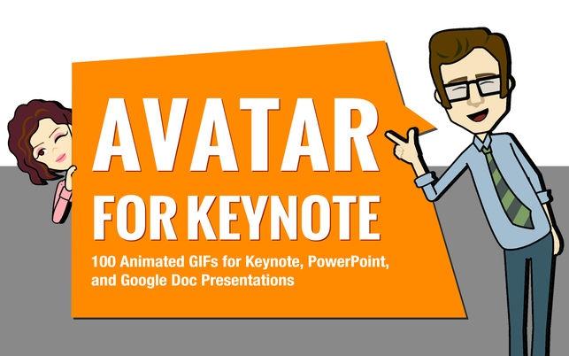 Avatar for Keynote (โปรแกรม Avatar for Keynote ใส่ภาพ ตัวการ์ตูน สำหรับงานนำเสนอ บน Mac) :