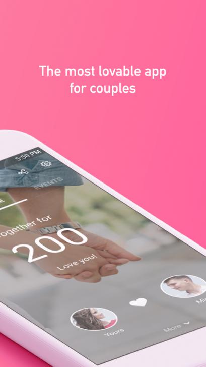 App ปฏิทินคู่รัก THE COUPLE