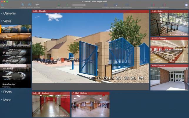 VI Monitor (โปรแกรม VI Monitor ดูกล้องวงจรปิด ควบคุมกล้อง PTZ สำหรับ Mac) :