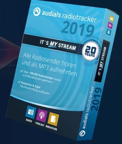 Audials Radiotracker (โปรแกรม Radiotracker อัดเสียงสตรีม วิทยุอินเทอร์เน็ต) :