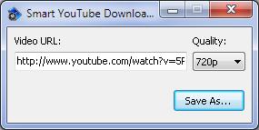 โปรแกรมช่วยดาวน์โหลด Smart YouTube Downloader