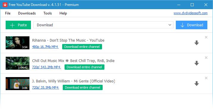 โปรแกรมดาวน์โหลดคลิปยูทูป YouTube Downloader for Mac
