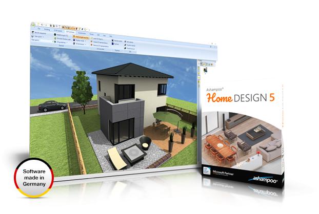 โปรแกรมออกแบบบ้าน Ashampoo Home Design