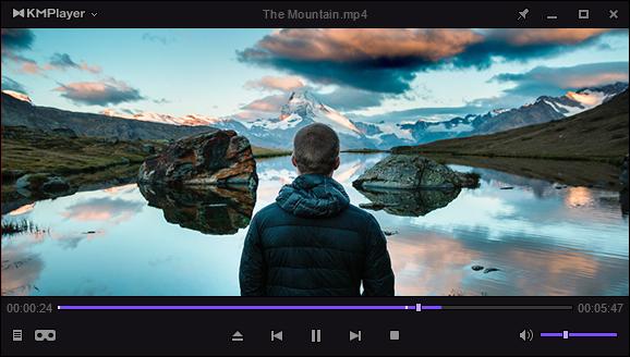 KMPlayer (โหลด KMPlayer โปรแกรมดูหนังฟังเพลง) :
