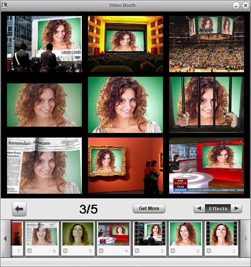 โปรแกรมถ่ายภาพ โปรแกรมถ่ายวิดีโอ จากกล้องเว็บแคม Video Booth