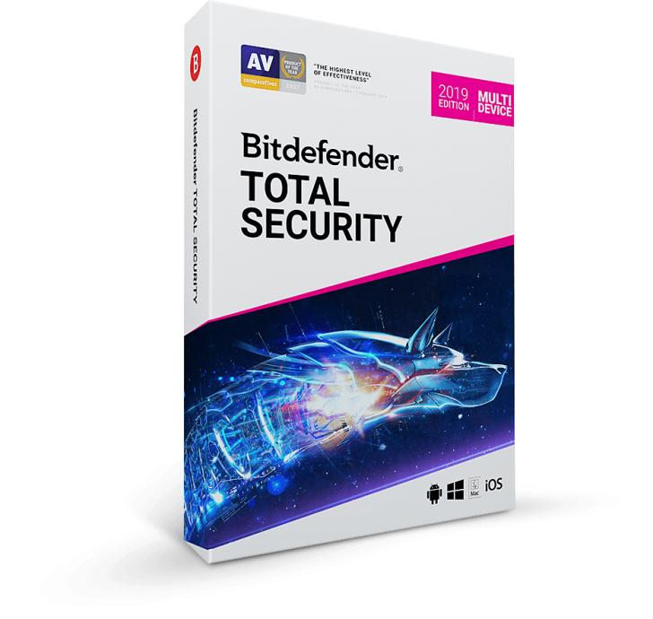 BitDefender Total Security (โปรแกรมสแกนป้องกัน ไวรัส สปายแวร์ ฟิชชิ่ง ครบวงจร ) :