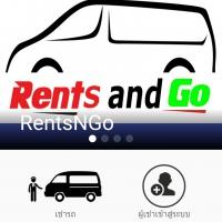 RentsNGo (App เช่าเหมารถตู้พร้อมคนขับ แบบรายวันและรายเดือน ผ่านมือถือ)