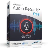 Ashampoo Audio Recorder Free (โปรแกรม Audio Recorder Free บันทึกเสียงอัดเสียง คุณภาพสูง)