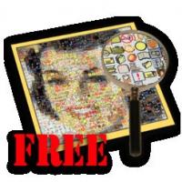 Mazaika Free (โปรแกรม Mazaika แต่งรูปแนวกระเบื้อง Mosaic ฟรี)