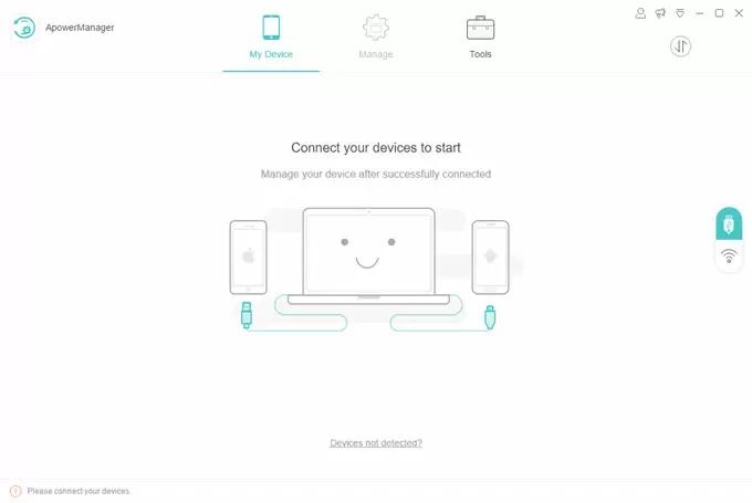 Apowersoft Phone Manager (จัดการข้อมูลมือถือ Android และ มือถือ iOS) :