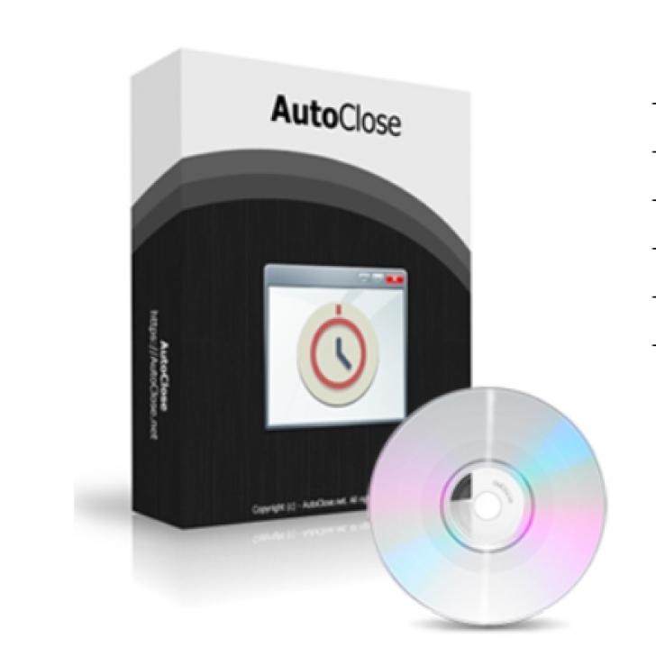 AutoClose (โปรแกรม AutoClose ตั้งเวลาปิดโปรแกรม / ปิดคอมฯ อัตโนมัติ ฟรี)