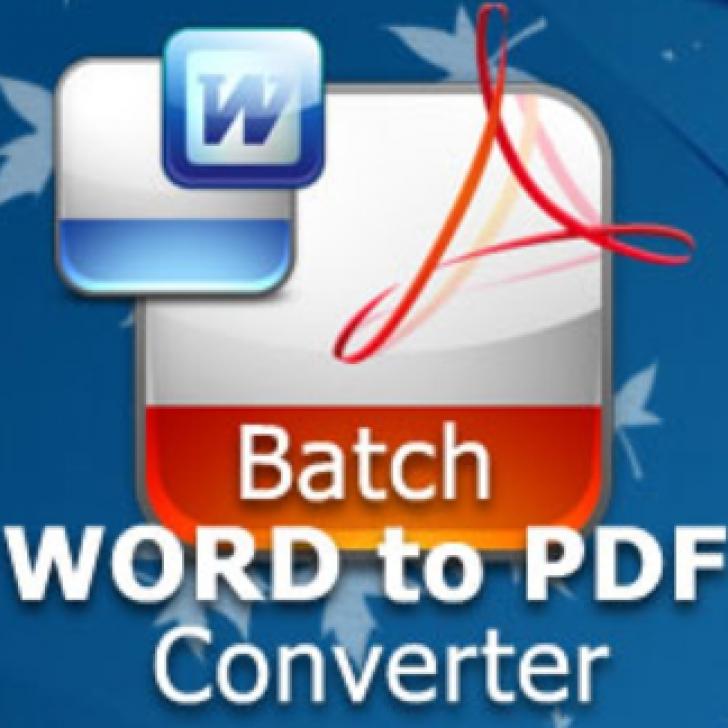 Batch Word to PDF Converter (โปรแกรมแปลงไฟล์ Word เป็น PDF)