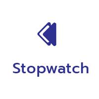 โปรแกรมจับเวลา Stopwatch