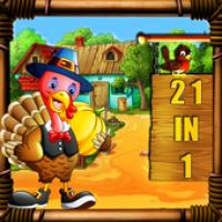 Thanksgiving Escape Game 21-in-1 (เกมส์ฝึกสมอง ประลองปัญญา ไขปริศนาลับ)