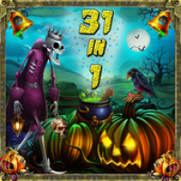 31-in-1 Halloween Escape Game (เกมส์ 51 Doors Horror Escape ฝึกสมอง ประลองปัญญา)
