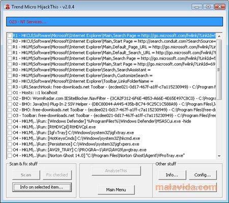 HiJackThis (โปรแกรม HiJackThis ป้องกันคอมพิวเตอร์จาก Spyware และ Adware ฟรี) :