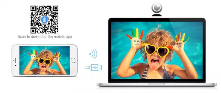 โปรแกรมเปลี่ยนกล้องมือถือเป็น Webcam บน PC iVCam