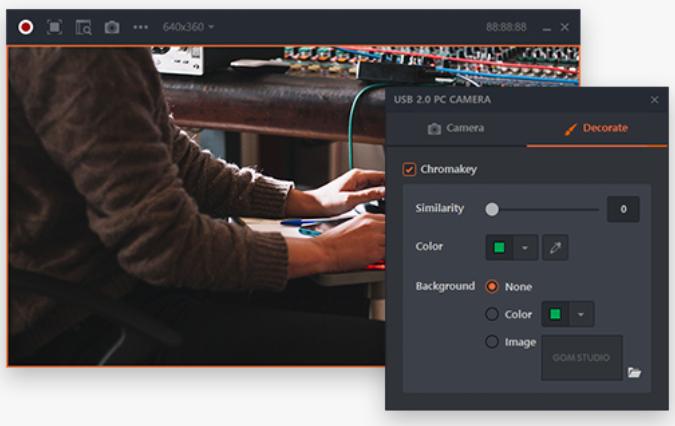 GOM Studio (โปรแกรม GOM Studio โปรแกรมไลฟ์สด Live Stream และสตรีมเกม) :