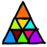 Jigsaw Puzzle (โปรแกรมสร้างเกมการ์ดตัวต่อ Jigsaw Puzzle แบบสามเหลี่ยม)