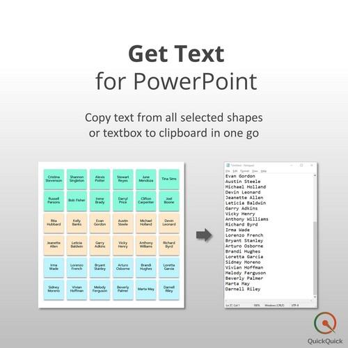 QuickQuick (โปรแกรมกำหนดปุ่มคีย์ลัดของ Excel และ PowerPoint ให้ใช้งาน และเข้าถึงได้ง่ายขึ้น) :