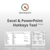 QuickQuick (โปรแกรมกำหนดปุ่มคีย์ลัดของ Excel และ PowerPoint ให้ใช้งาน และเข้าถึงได้ง่ายขึ้น)
